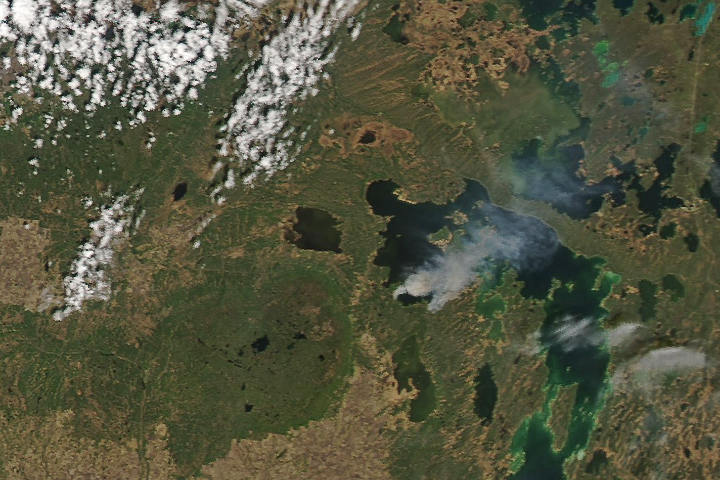 Fires in Manitoba - selected image