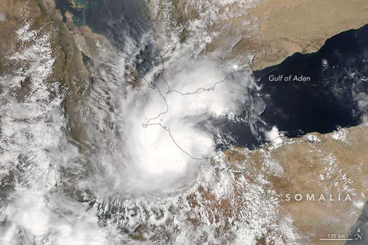 Cyclone Duo Hits the Middle East