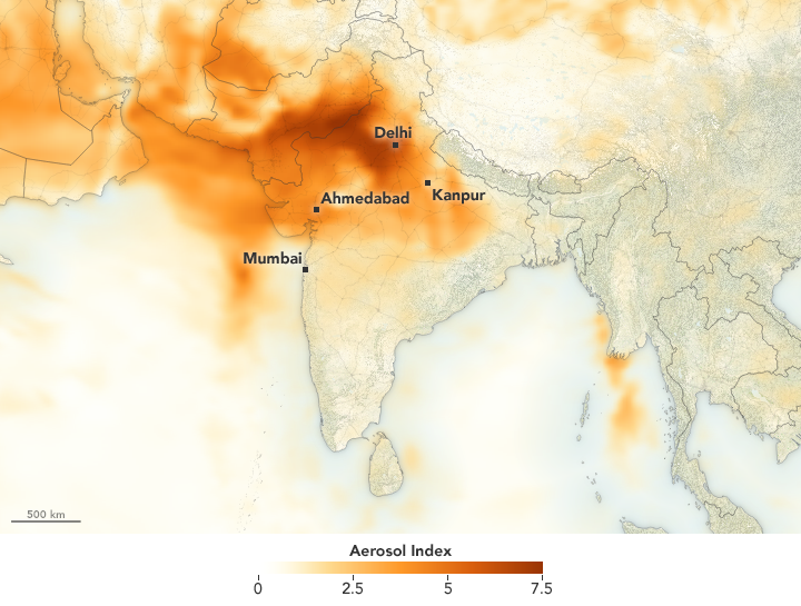 Weeks of Extreme Weather in India