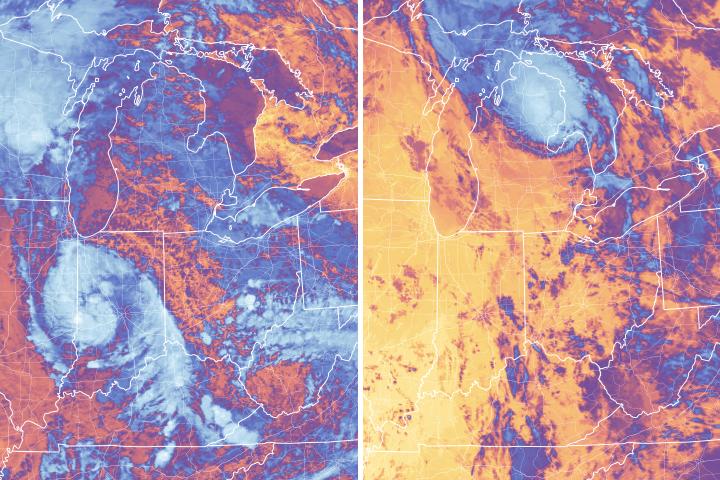 Subtropical Cyclone Alberto - selected image