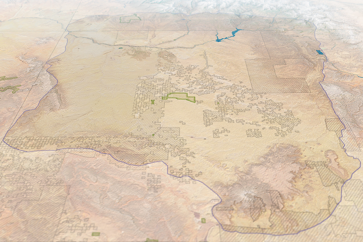 Mapping Modern Threats to Ancient Chacoan Sites - selected image