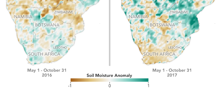 NASA Soil Moisture Data Advances Global Crop Forecasts - related image preview