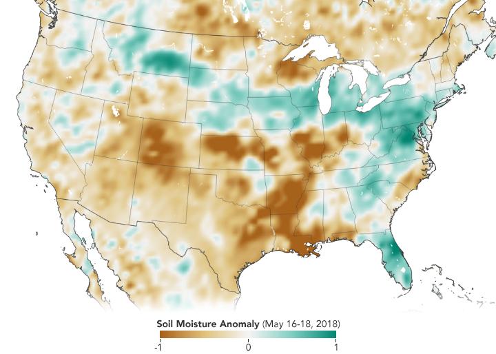 NASA Soil Moisture Data Advances Global Crop Forecasts