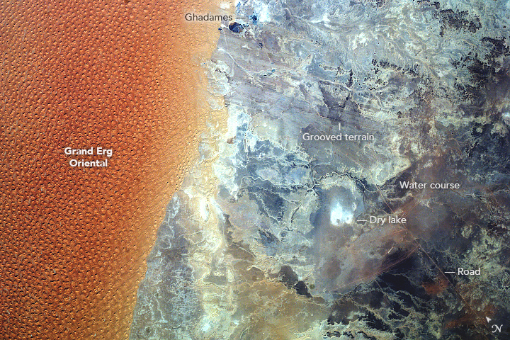 Grand Erg Oriental, Algeria