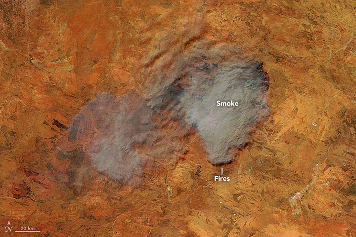Dry Season Fires in Australia - related image preview