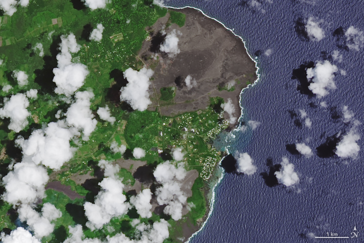 Lava Consumes Vacationland and Kapoho Bay - related image preview