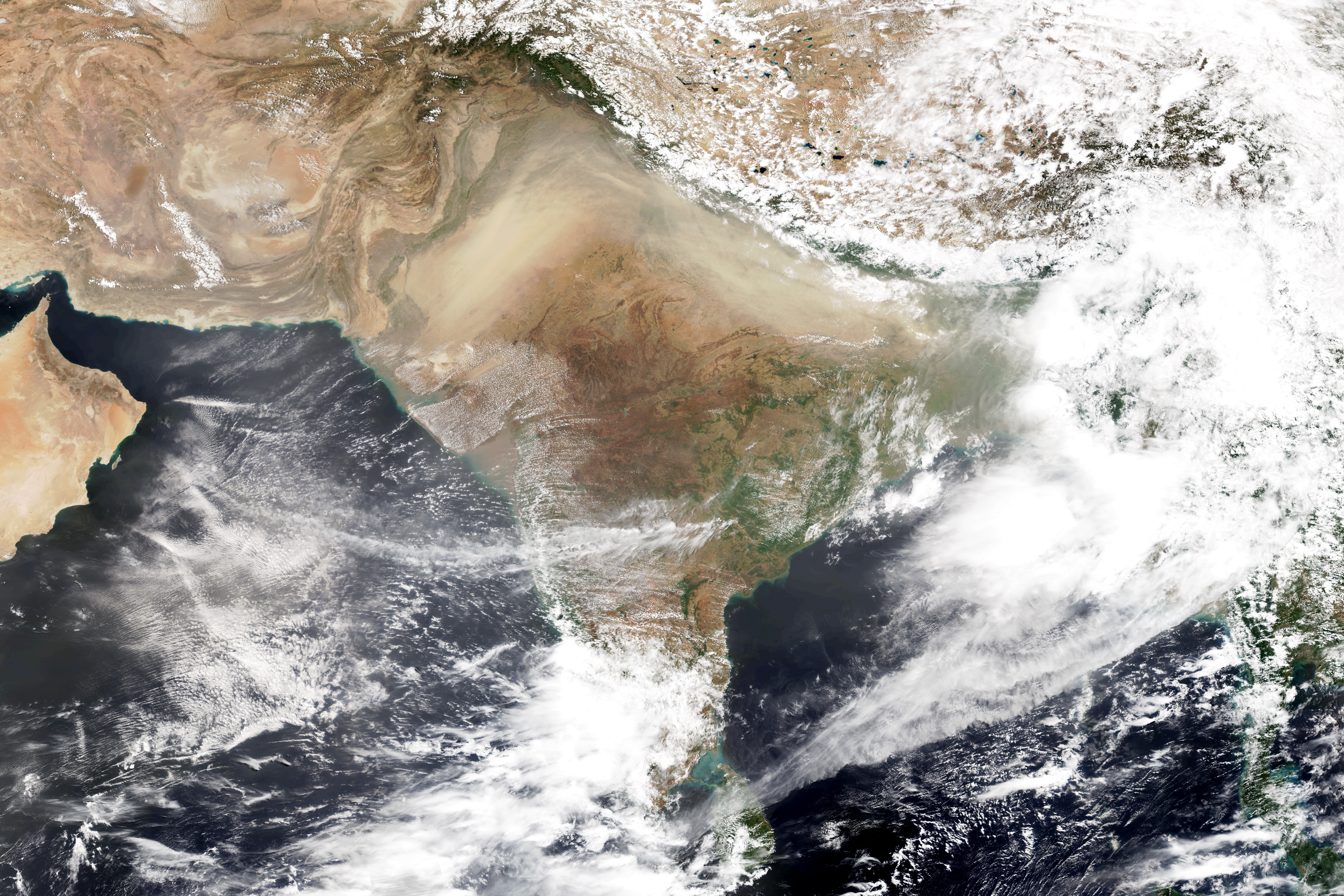 Hazardous Pre-Monsoon Dust Pollution - related image preview