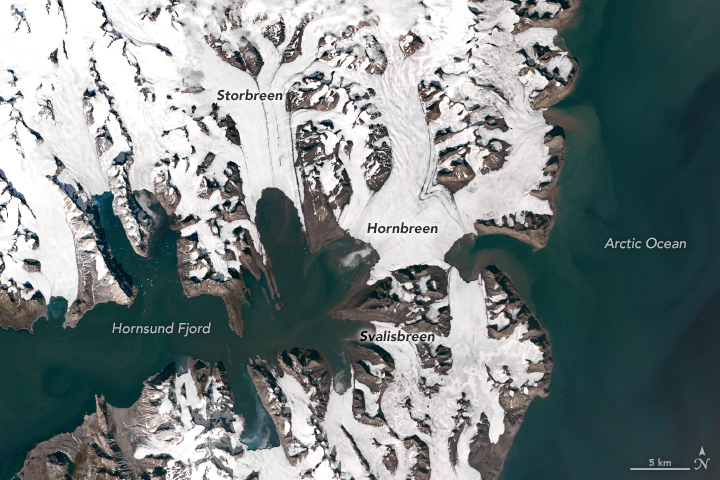 Losing Ice in Svalbard - related image preview