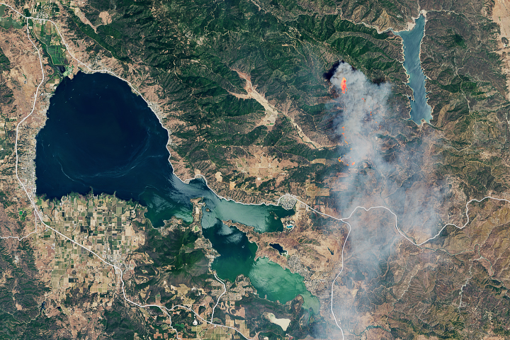Pawnee Fire, Northern California - selected image