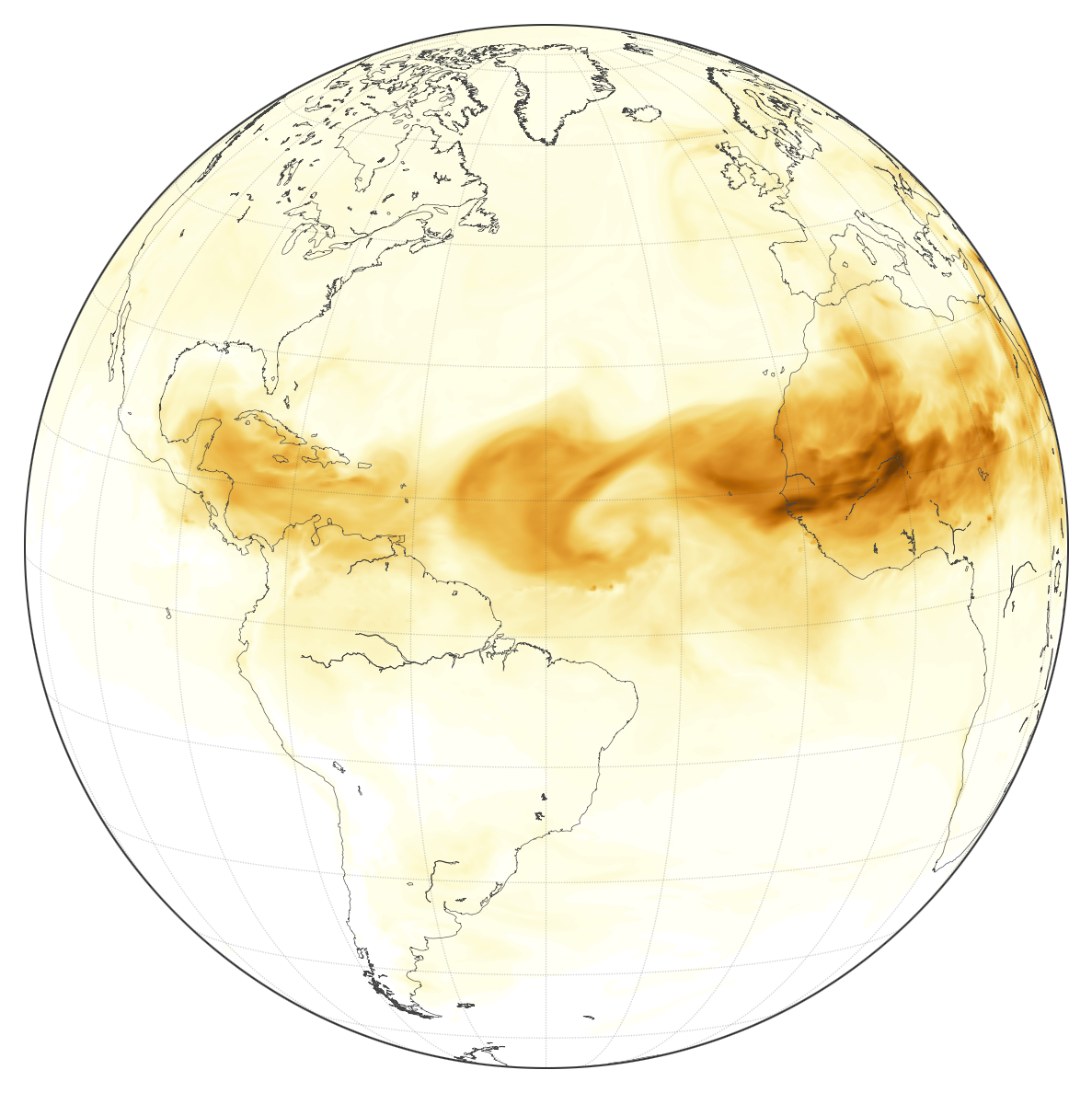 Here Comes the Saharan Dust - related image preview