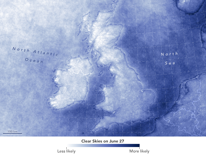 Rare Fair Skies Over All of the UK and Ireland - related image preview