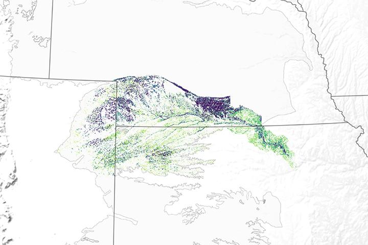 Satellites Investigate Irrigation in a Stressed Aquifer