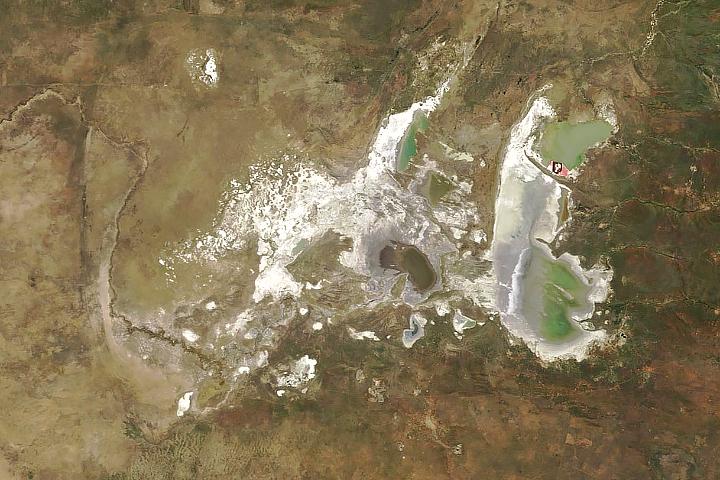 Makgadikgadi Salt Pans