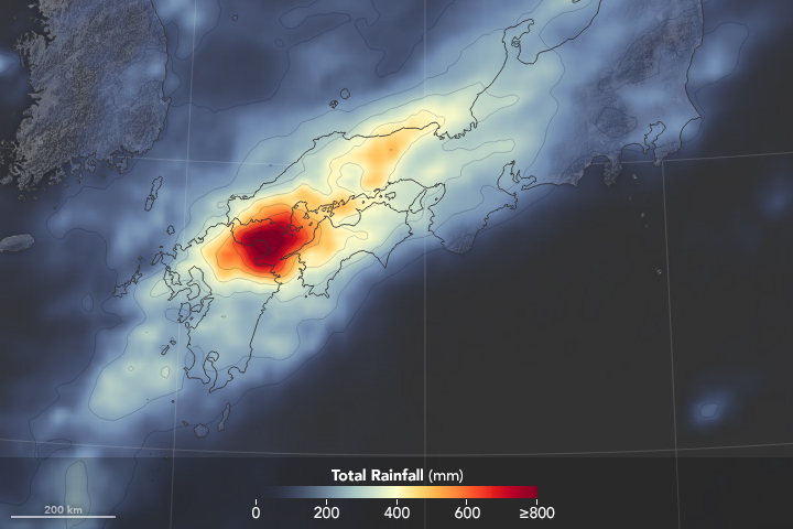 Severe Rainfall and Flooding in Japan - related image preview