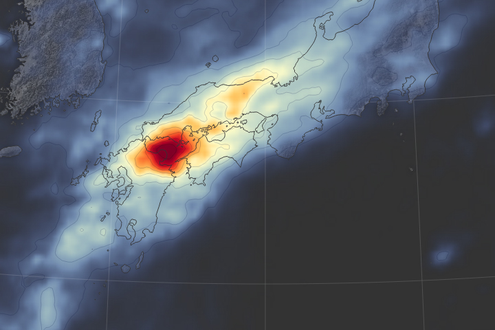 Severe Rainfall and Flooding in Japan