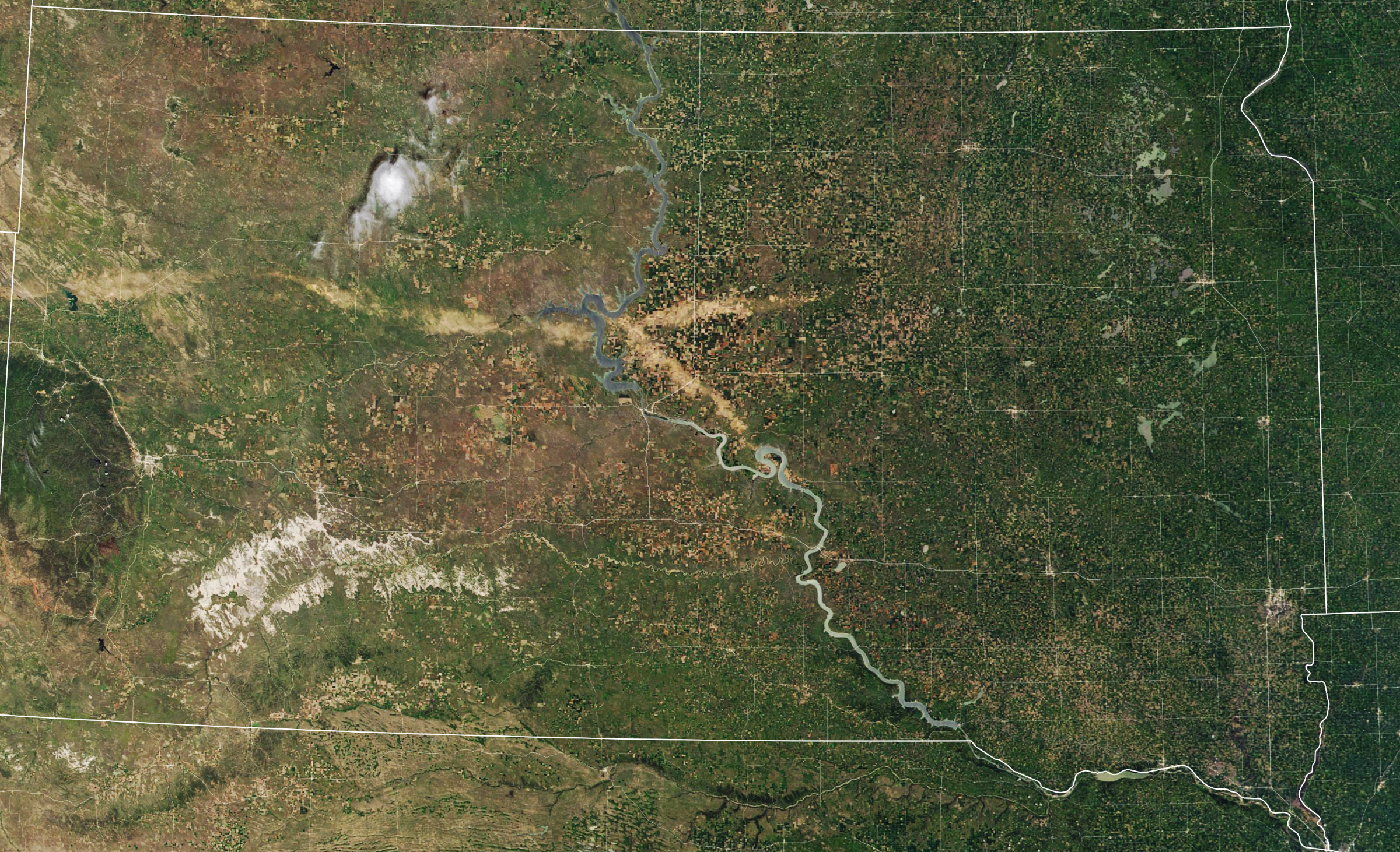 Hail Cuts Swaths Of Damage Across South Dakota