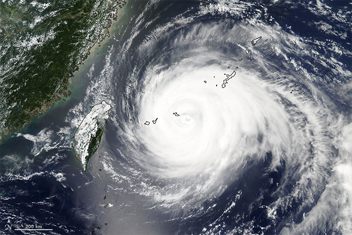 Powerful Typhoon Heads for China - related image preview