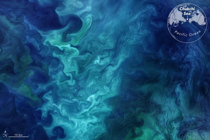 Churning in the Chukchi Sea