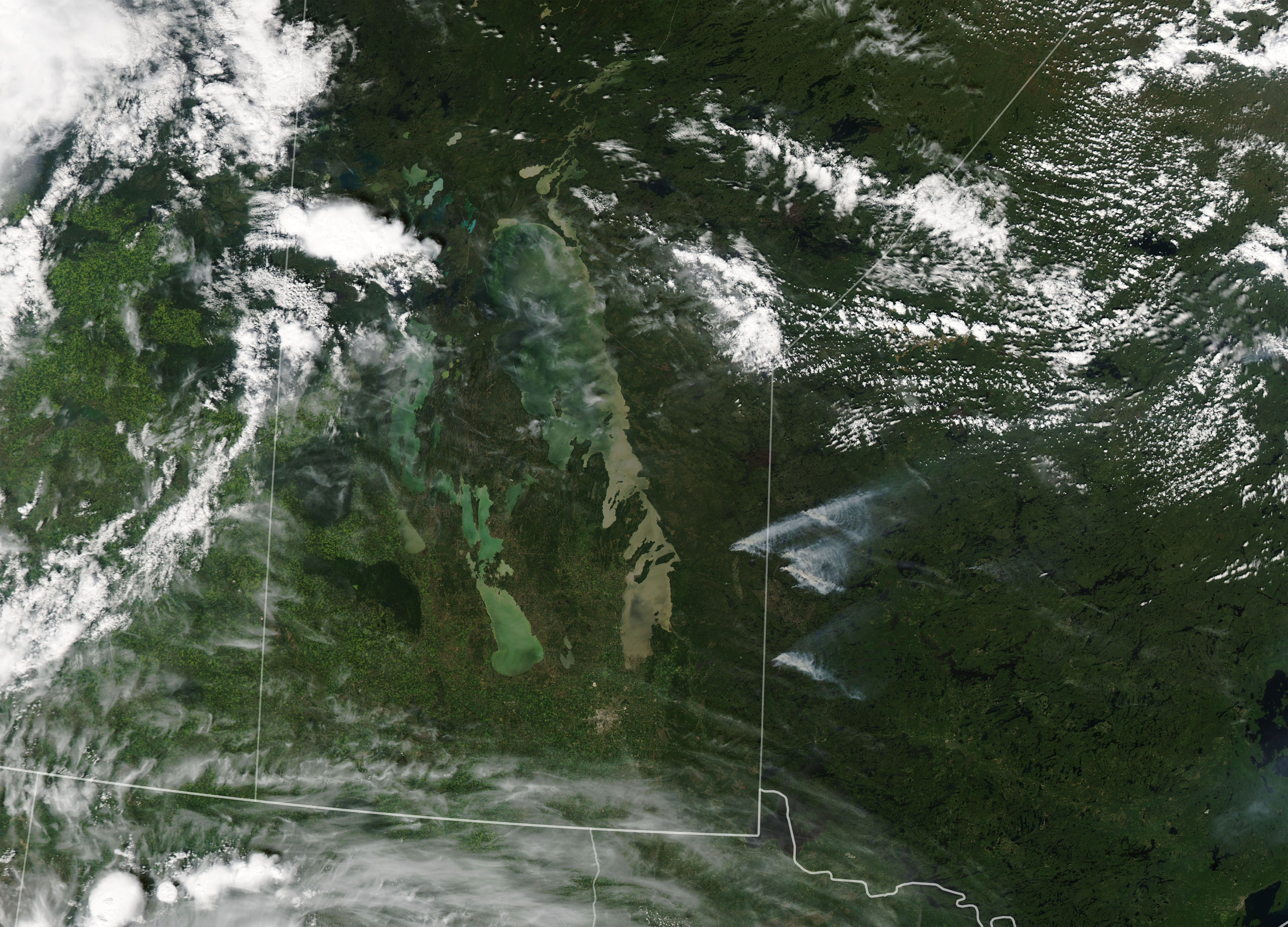 Fires in Manitoba and Northern Ontario - related image preview
