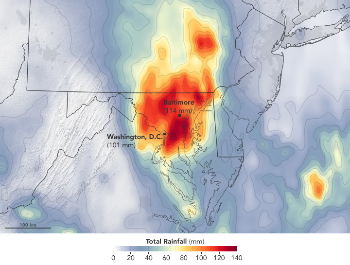 Rain Swamps the Mid-Atlantic  - related image preview
