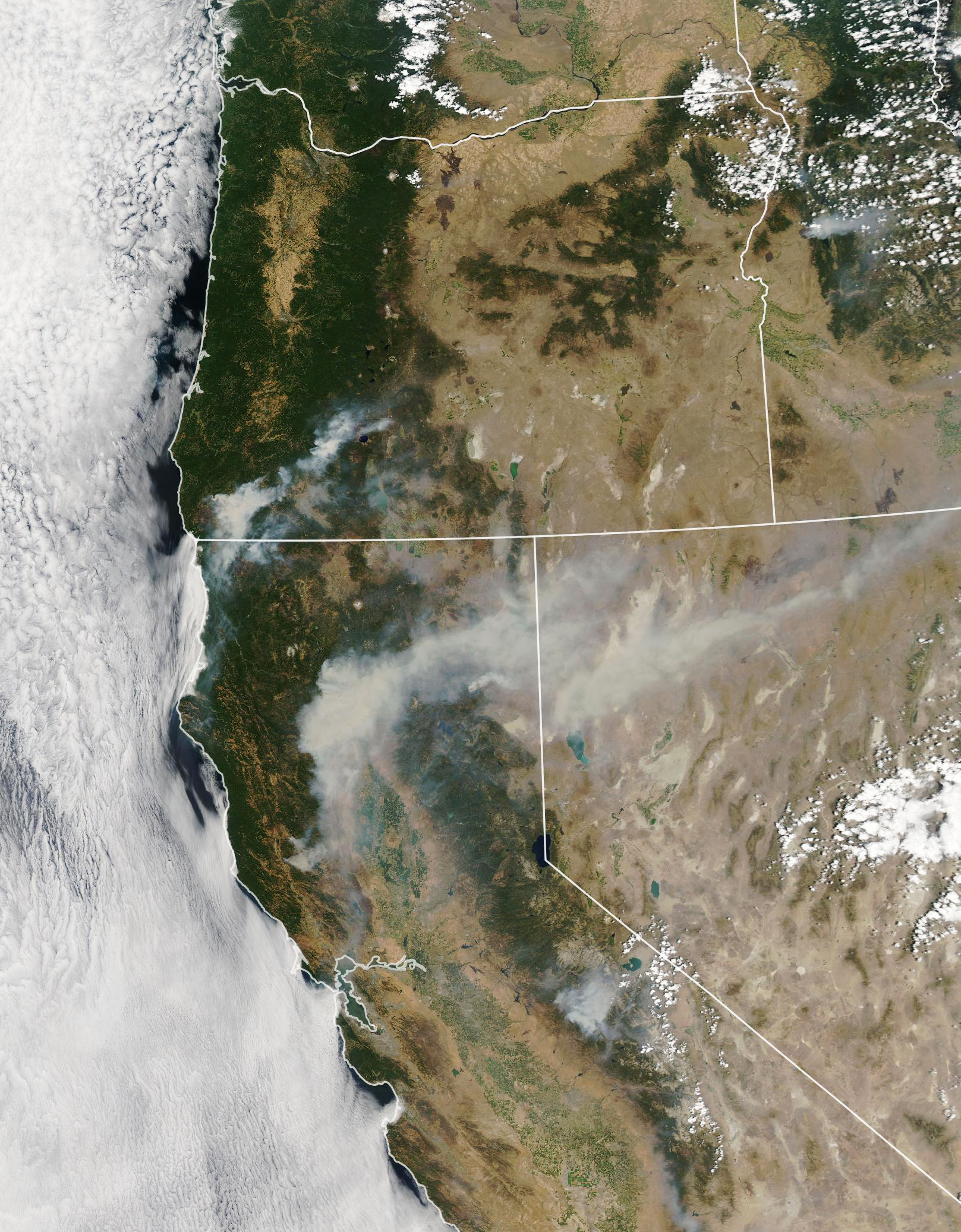 Wildfires Blanket Western States With Smoke - related image preview