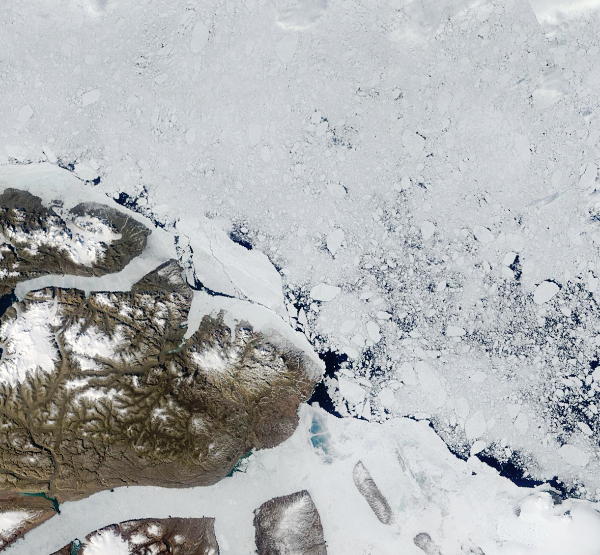 Rock and Ice in Northern Greenland  - related image preview