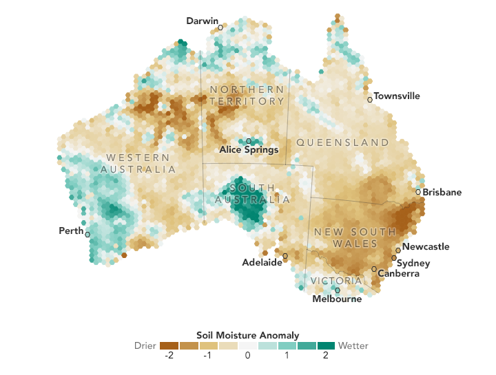 A Mid-winter Drought in Australia