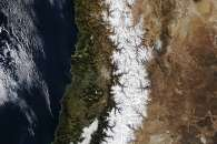 Winter in the Andes