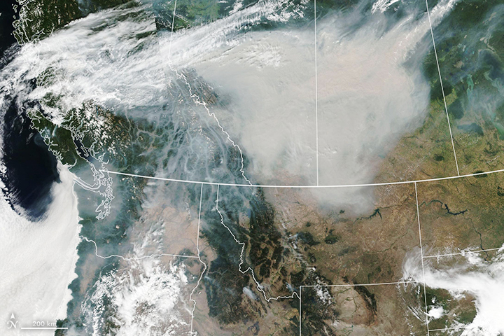 Smoky Skies in North America - related image preview