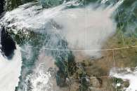 Smoky Skies in North America