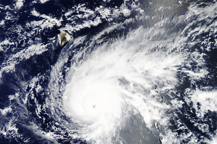 Hurricane Lane Approaches Hawaii - selected image