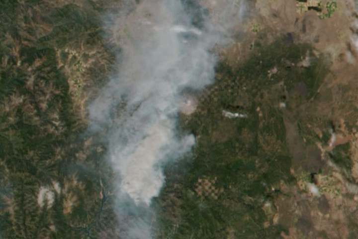 Yet Another Fire in Northern California