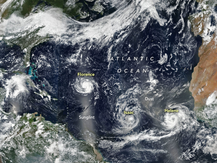 Trouble Brewing in the Atlantic