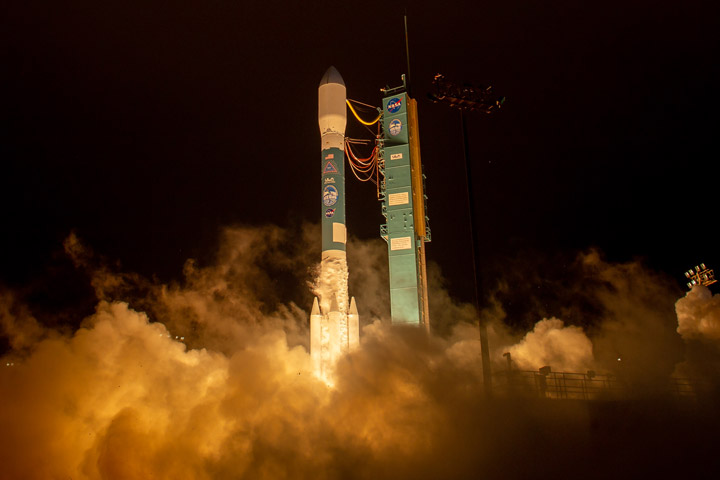 Mission to Track Earth's Changing Ice Launches