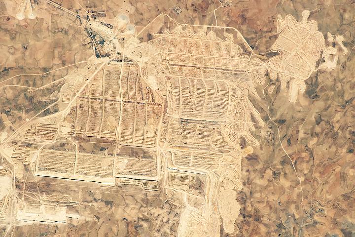 Bou Craa Phosphate Mine, Western Sahara