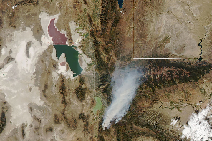 Fires ablaze in northeastern Utah