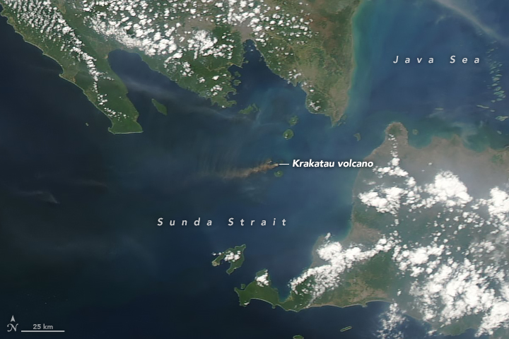 Activity at Krakatau - related image preview