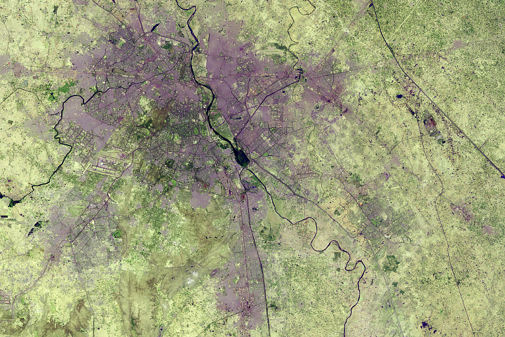 Urban Growth of New Delhi
