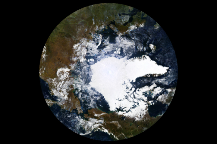Arctic Sea Ice Reaches 2018 Minimum