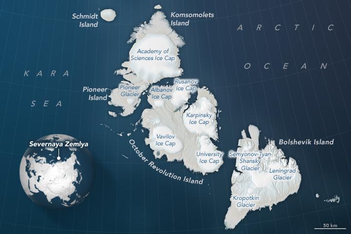 Severnaya Zemlya Archipelago - related image preview