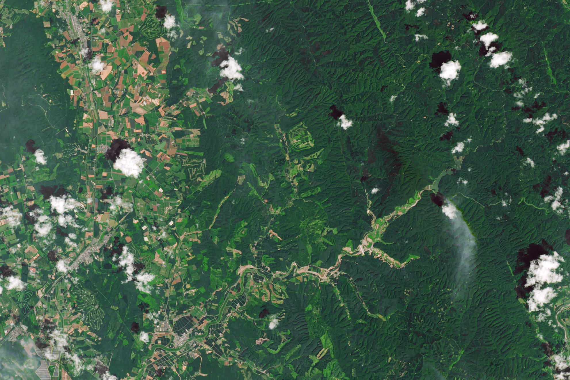 Landslides in Hokkaido - related image preview