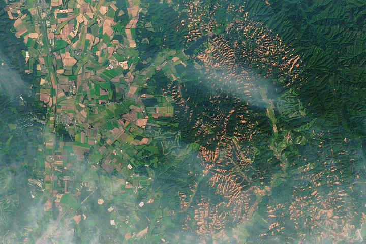 Landslides in Hokkaido
