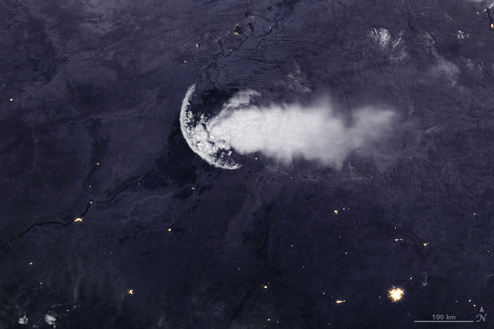 An Outflow Boundary—Not a Jellyfish—Over Africa - related image preview