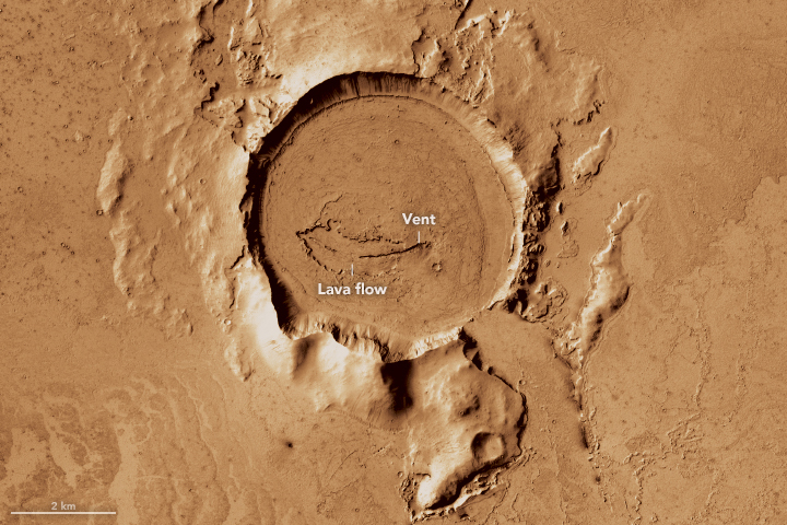 Flood Basalts on Mars and Iceland - related image preview