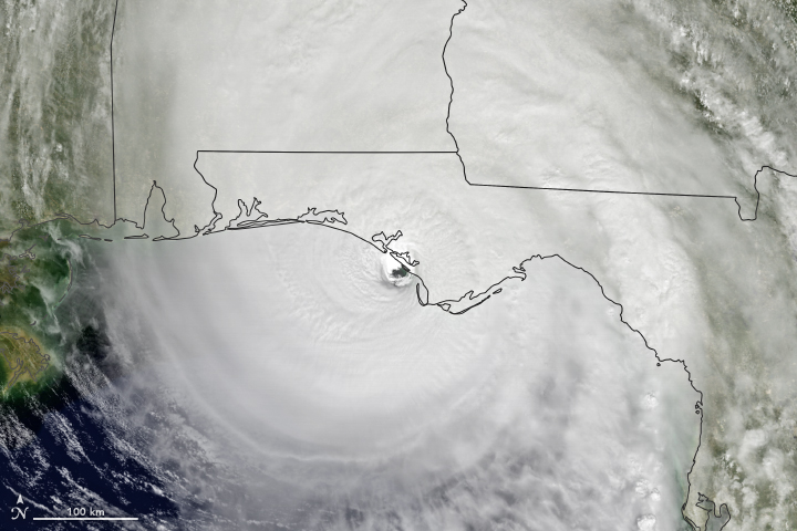 Florida Slammed by Hurricane Michael