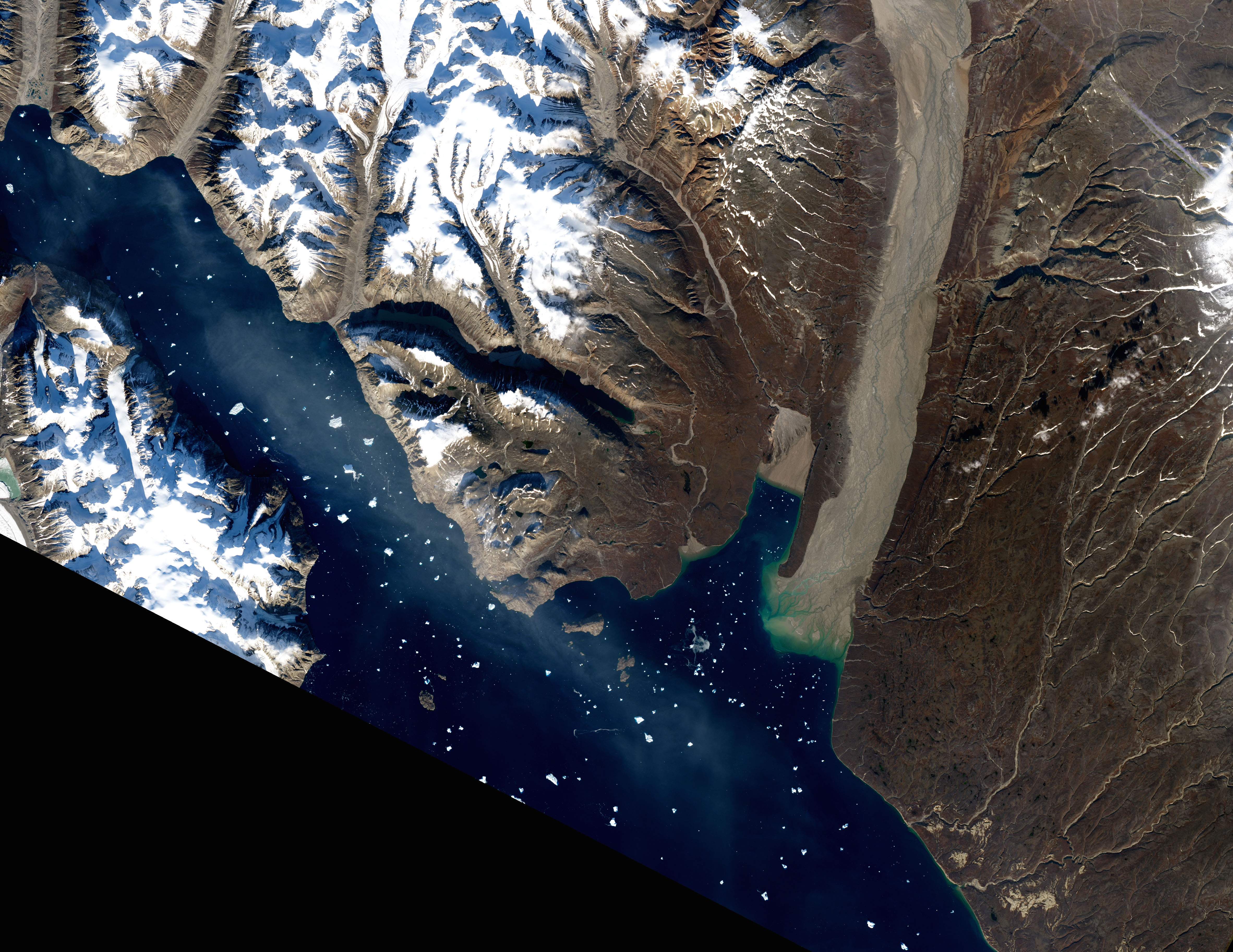 Glacier Flour in Greenland Skies - related image preview