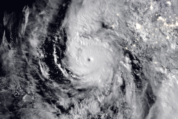 Hurricane Willa - selected image