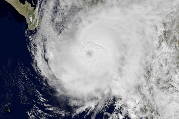 Hurricane Willa Closes in on Mexico - selected image