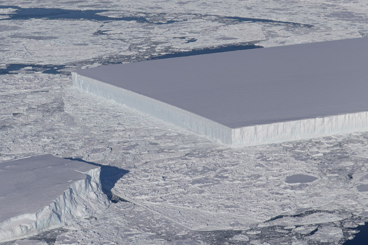 A Neat Slice of Ice in Antarctica