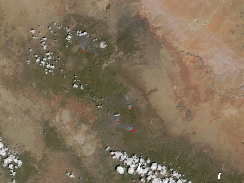 Fires in the Flagstaff area (Arizona) - related image preview
